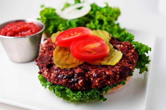 3 Ingredient Veggie Burger Recipe with video
