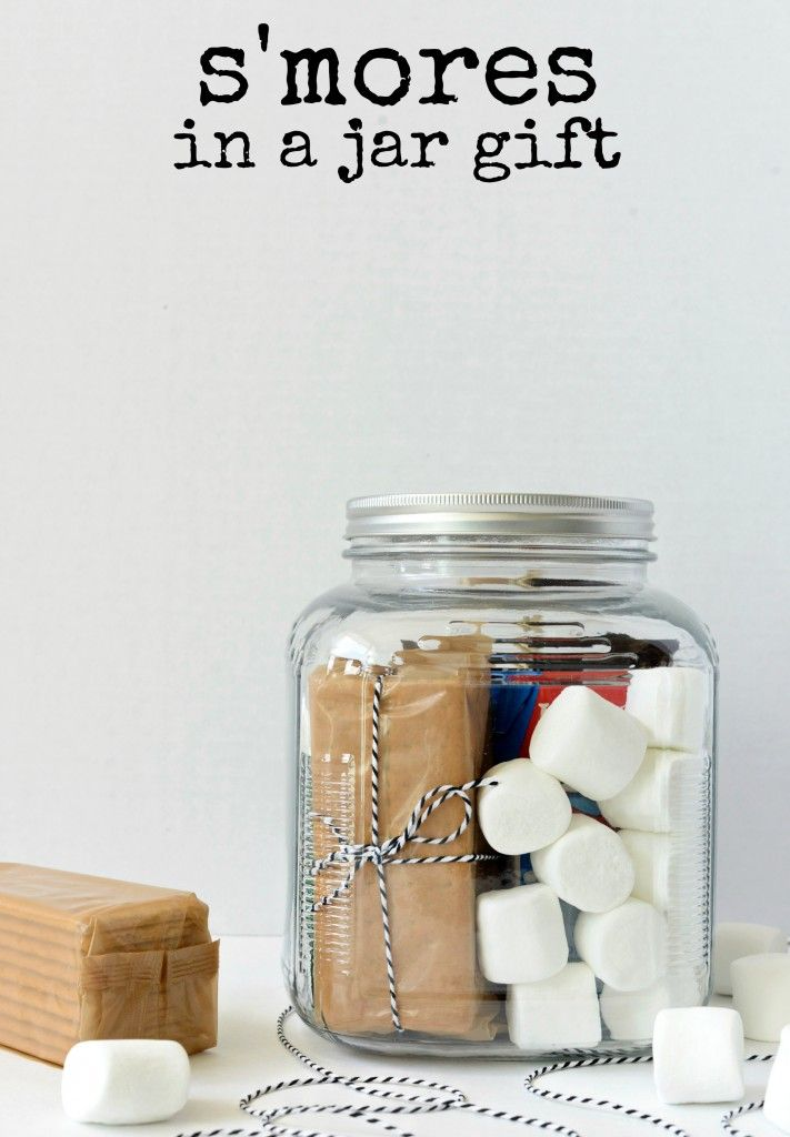 smores in a jar gift s'mores in a jar