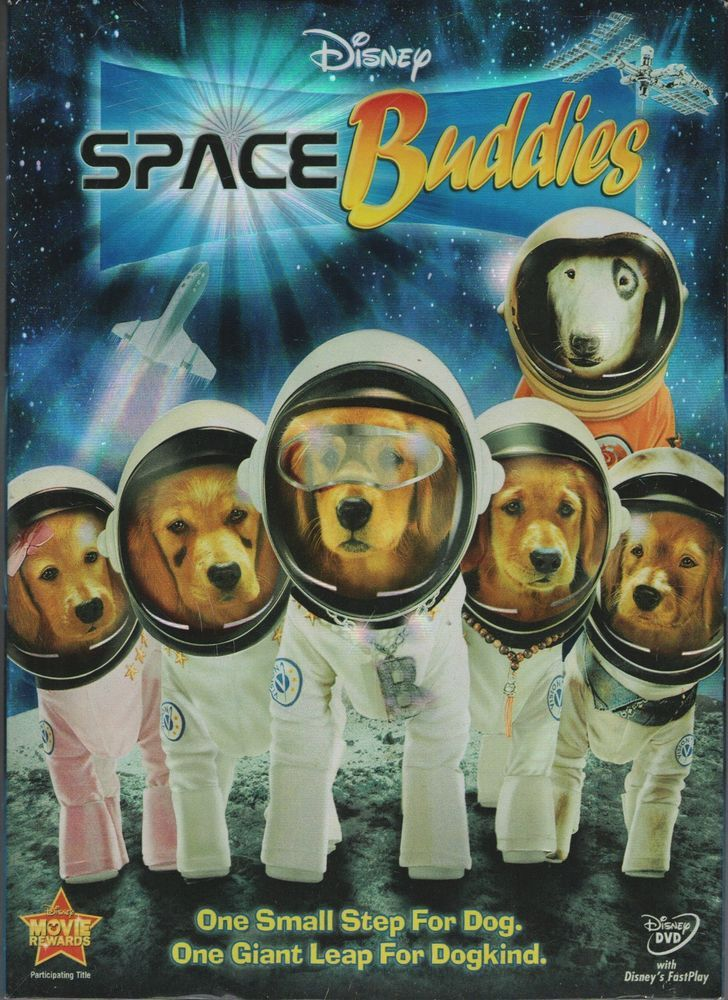 Space Buddies Dvd 2009 New Sealed Widescreen Disney Rated G