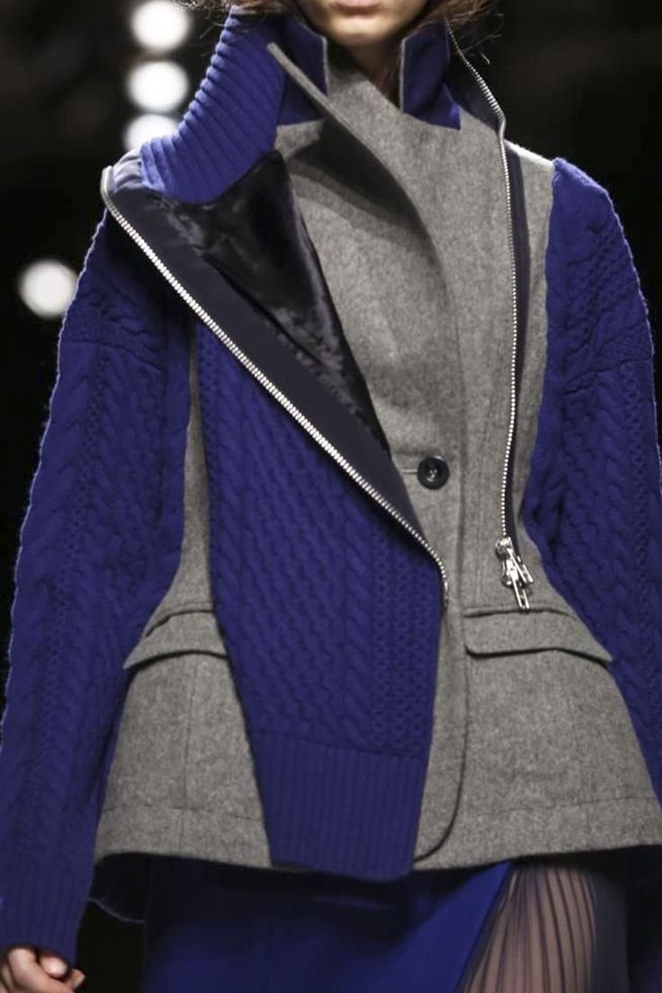 Sacai Ready To Wear Fall Winter 2014 Paris - NOWFASHION