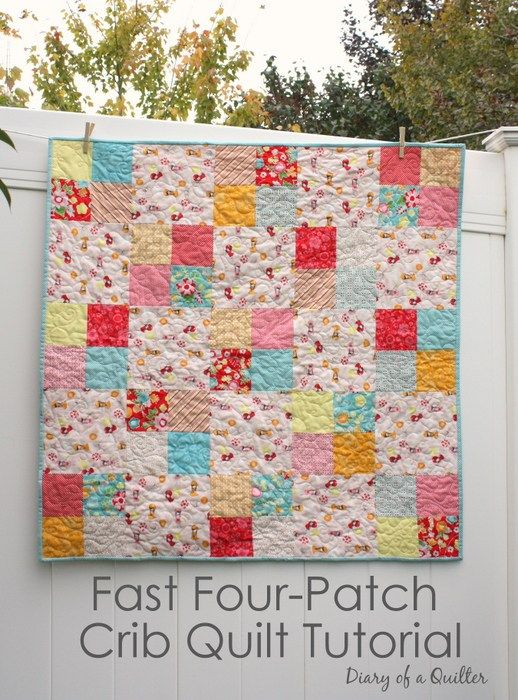 Quilt Tutorial - easy beginner quilt pattern