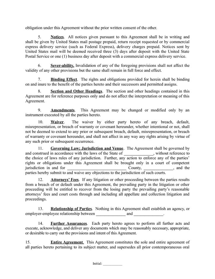 Partnership Agreement 1