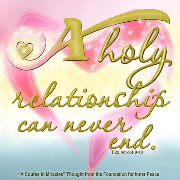 the holy relationship acim