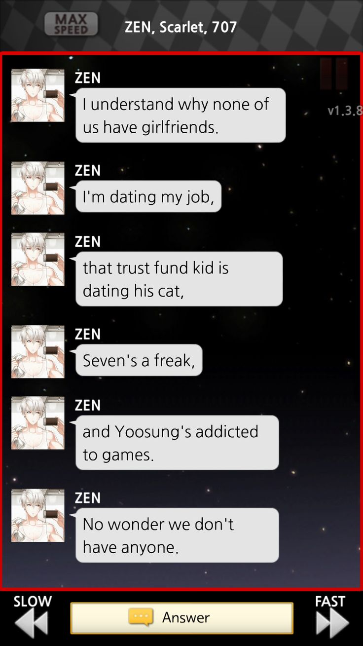 Zen gets the severity of the situation