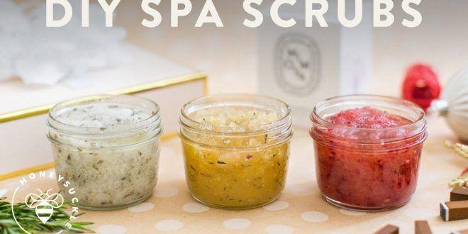 3 DIY Bath Scrubs