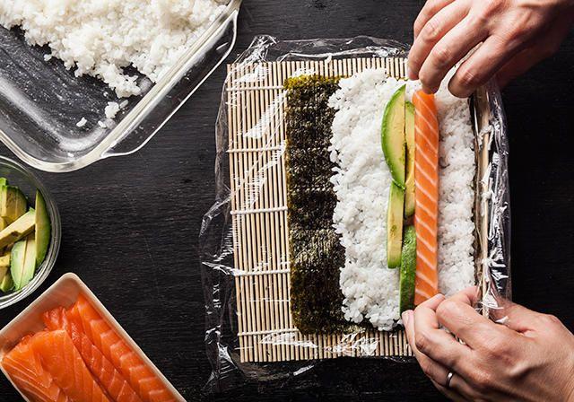 Salmon-Avocado Maki Recipe - Chowhound