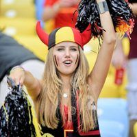 This Beautiful World Cup Fan Got a Modeling Gig With L'Oreal After She Was Spotted in the Crowd