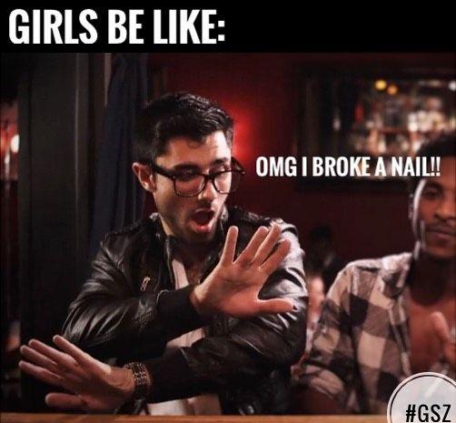 Rip nails.. #kshmr #kshmrgsz #kshmrmeme #memes #gsz