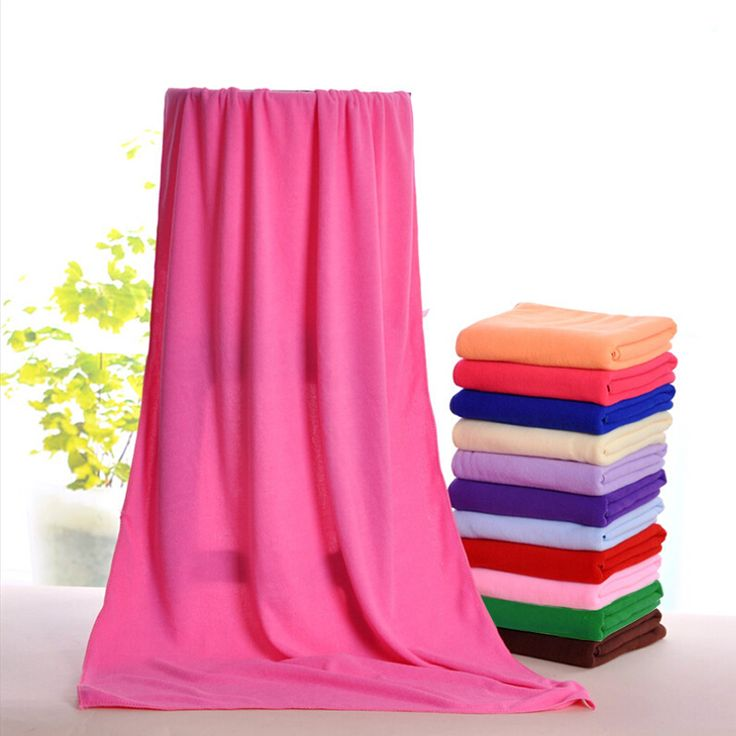 Bath towels ᐂ 10colors high quality 70x140cm Absorbent soft ( ^ ^)っ Microfiber fast Drying Bath Beach Towel girl WashclothBath towels 10colors high quality 70x140cm Absorbent soft Microfiber fast Drying Bath Beach Towel girl Washcloth