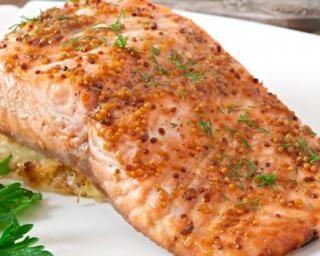Filet de saumon minceur sucré salé au miel