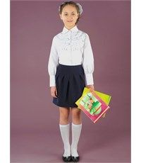 Školní sukně Infanta blue 0309