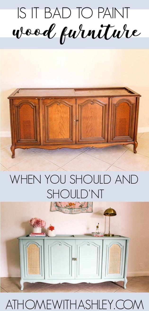 Ist Es Schlecht Holzmobel Zu Malen Zu Hause Bei Ashley Ashley Bei Hause Holzmobel Ist Malen Schlecht In 2020 Painting Wood Furniture Wood Furniture Home Diy
