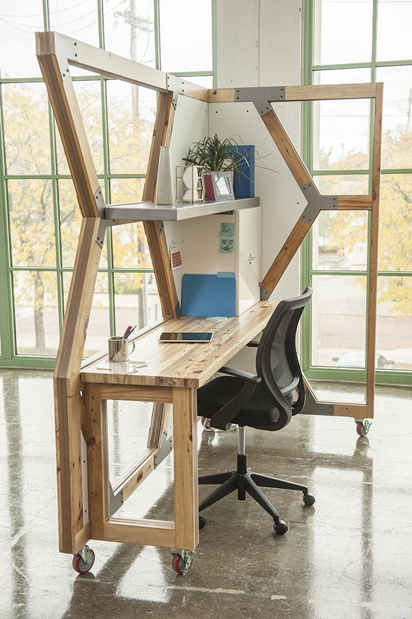 abeo design llc, workstations from reclaimed wood
