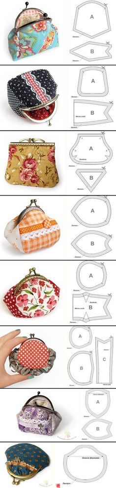 Vintage-Style Framed Coin Purse – Free Sewing Tutorial & Pattern!