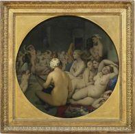 Le Bain turc - Jean-Auguste-Dominique INGRES - 1862 - bois marouflé sur toile - 108cmx103cm - PARIS Musée du Louvre