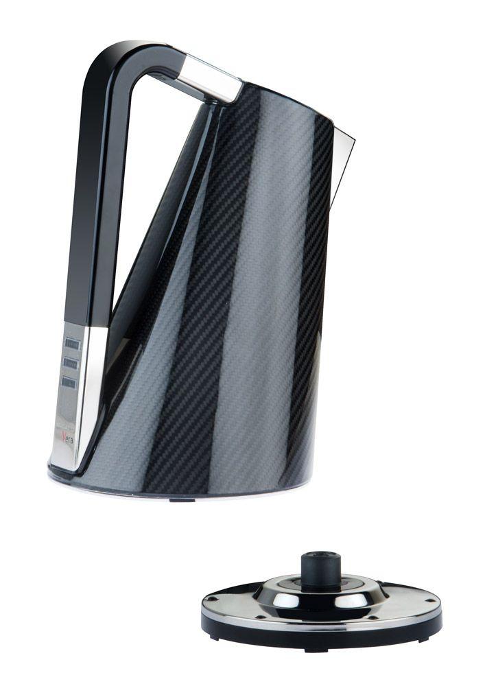 Piccoli elettrodomestici: Bollitore Vera da Ilcar Bugatti | Anno: 2014 | Materiali: Fibra di carbonio | #salonedelmobilemilano #design #isaloni #salonedelmobile #MilanoDesignWeek14 |