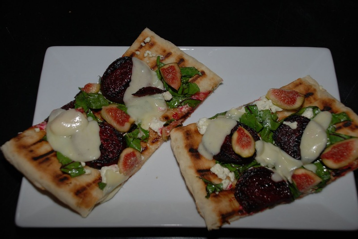 Goat cheese pizza, Figs and Goat cheese on Pinterest