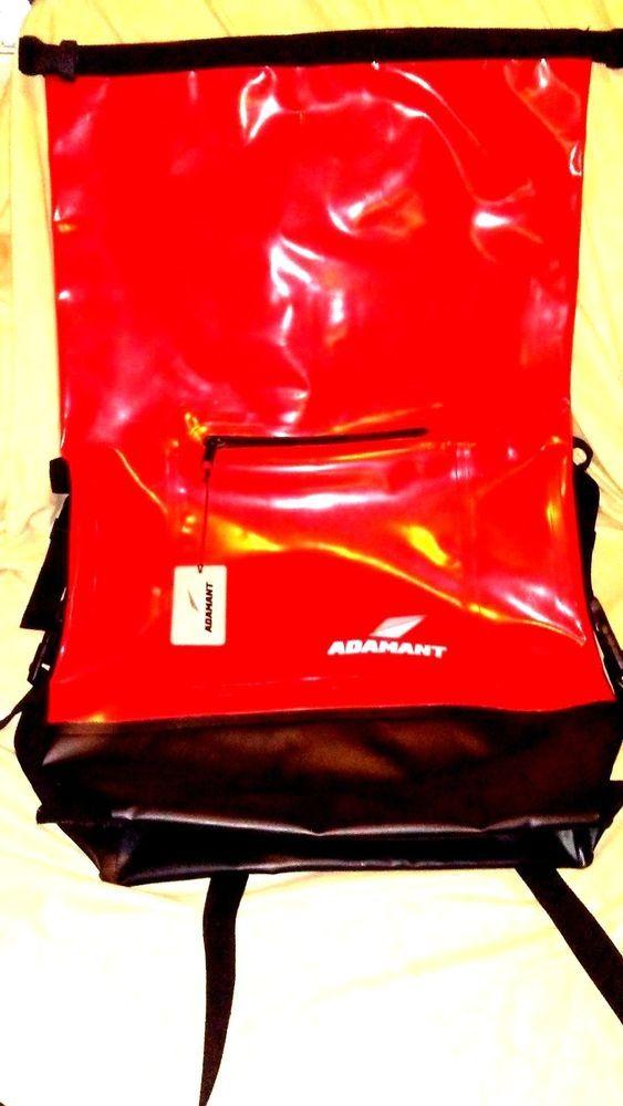 Adamant X-Core Waterproof Dry Bag Red Backpack #Adamant