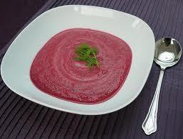 Aprende a preparar sopa fria de remolacha roja y pepino con esta rica y fácil receta. Lavar la remolacha y cocer en agua salada con un poco de aceite retirar y...