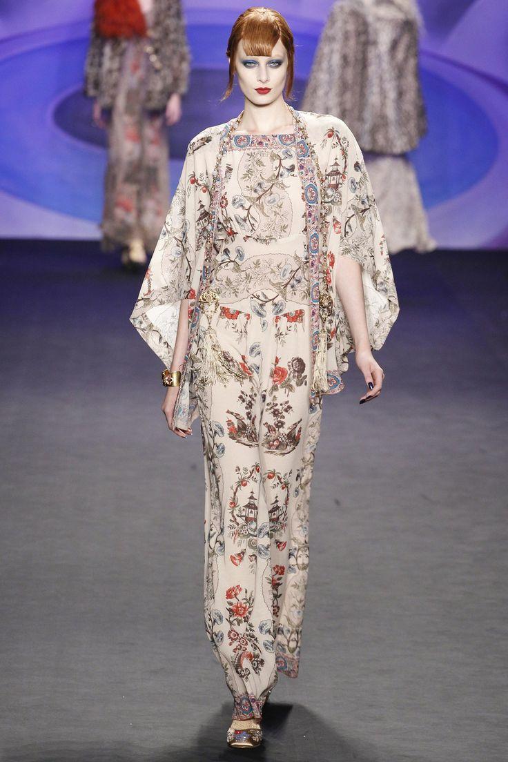 Anna Sui fashion collection, autmn/winter 2014