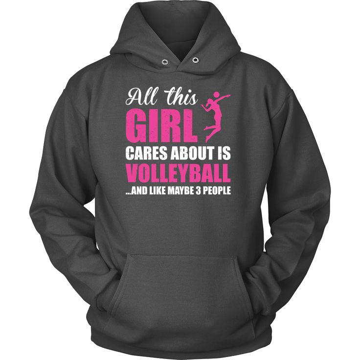 Volleyball Is My Life Unisex Hoodie T Shirt - TL00672HO