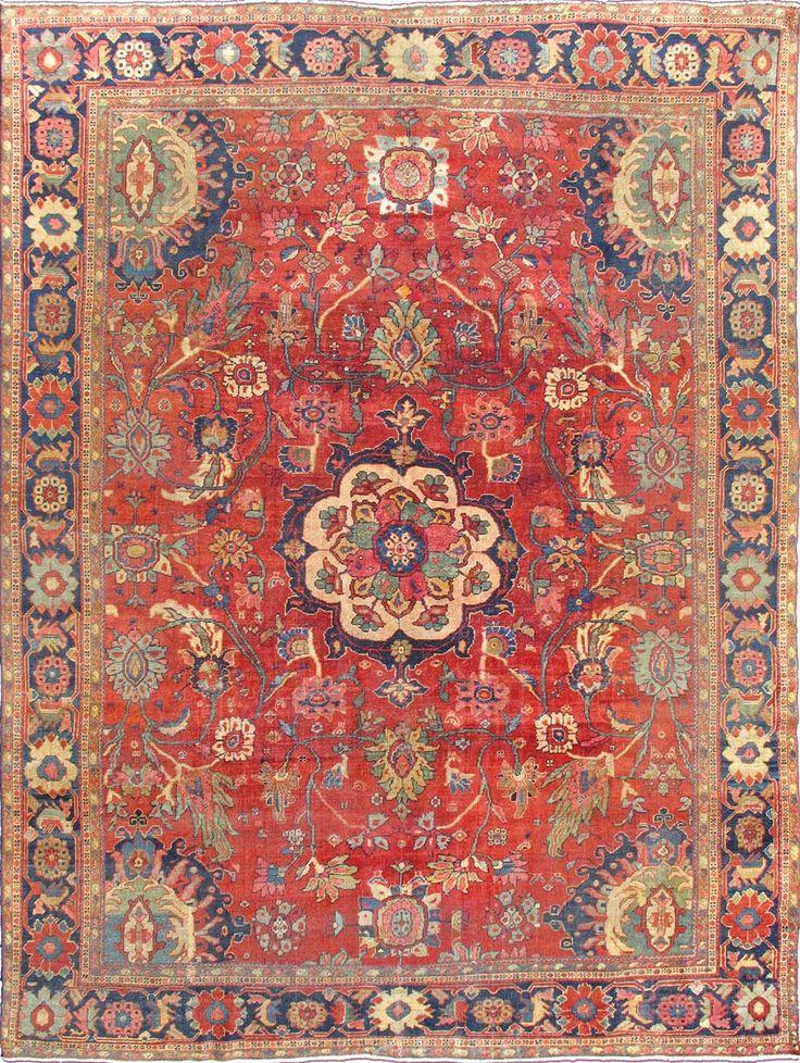 Persian Sultanabad Rug 9 0 X12 1 1900 Keivan