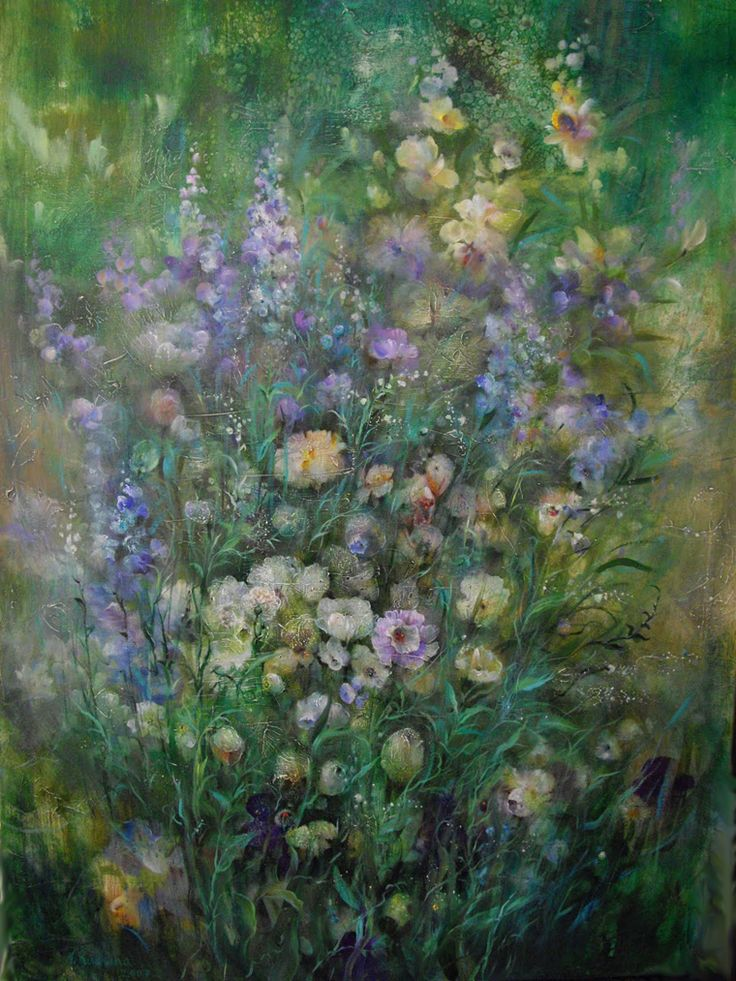 «Голоса травы»: восхитительные картины Наталии Рудзиной - Ярмарка Мастеров - ручная работа, handmade