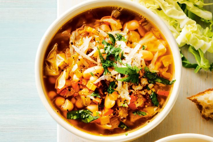 Pancetta, white bean and cabbage soup | Food | Pinterest