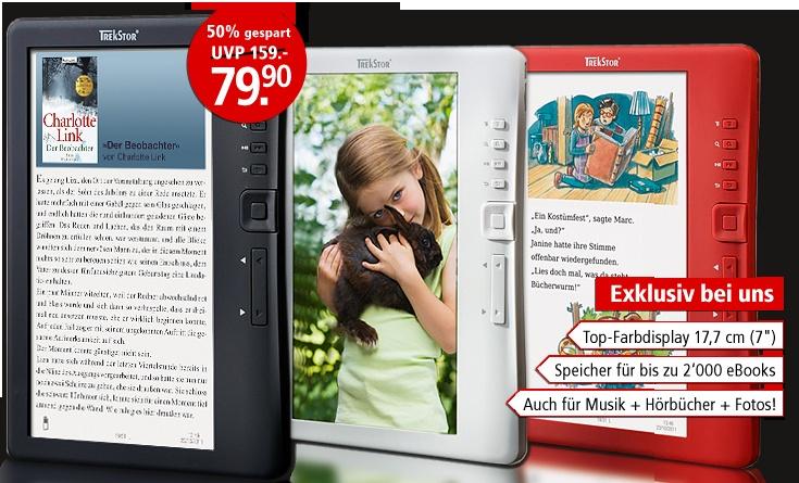 Der Weltbild eBook Reader jetzt in 3 Farben #ebooks #ebookreader