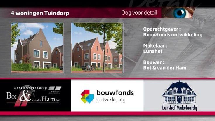 #Bouwbord 4 woningen @tuindorp is gereed ! @bouwfonds #lunshof eerdaags zullen we dit bouwbord gaan plaatsen.
