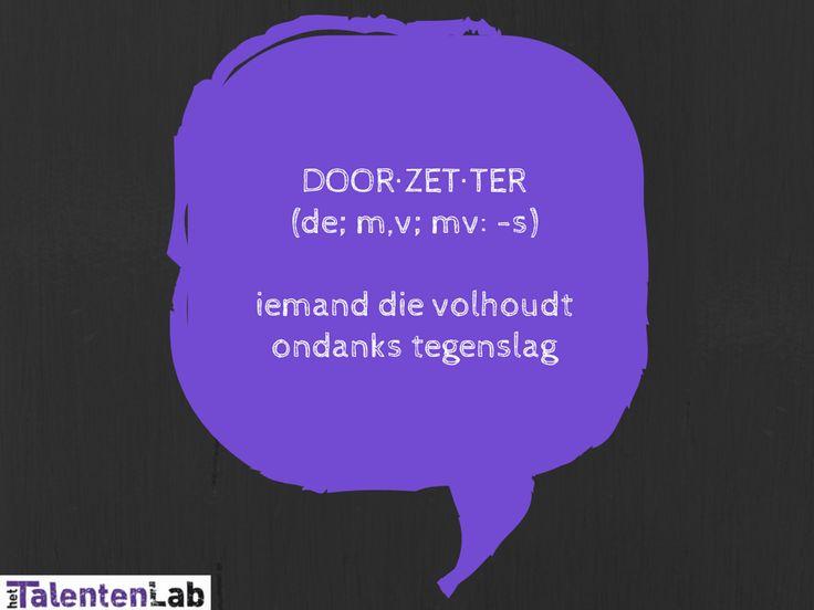 Door-zet-ter (de)