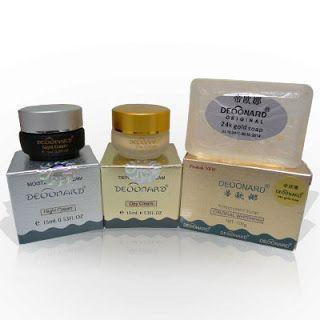 Cream Deonard Gold / Cream Premium Deonard  Sabun Deonard