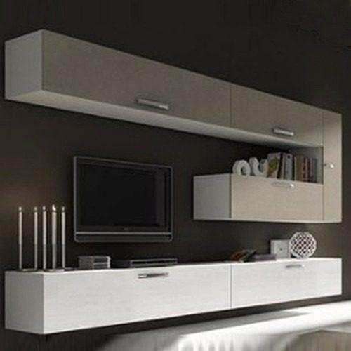 Las 25 mejores ideas sobre muebles television en for Muebles modulares living