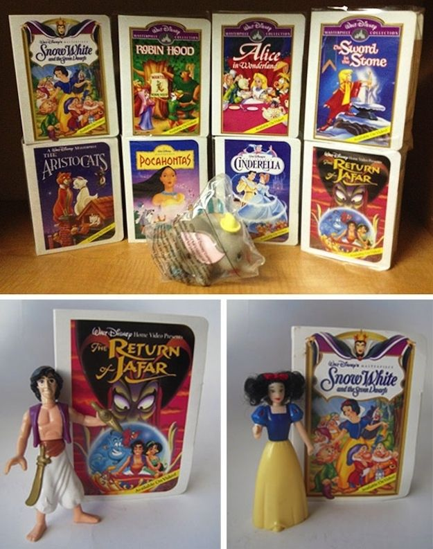 Disney Masterpiece Collection (1996) | The 26 Most Awesome Happy Meal Toys Of The '90s