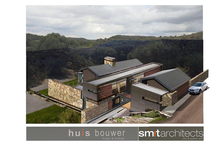 Smit Architects, Photo montage and photoshop. House Tredenham