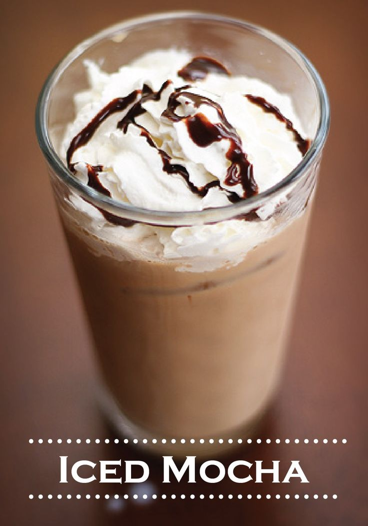 Cool down on a hot day with this sweet and refreshing Iced Mocha drink recipe!