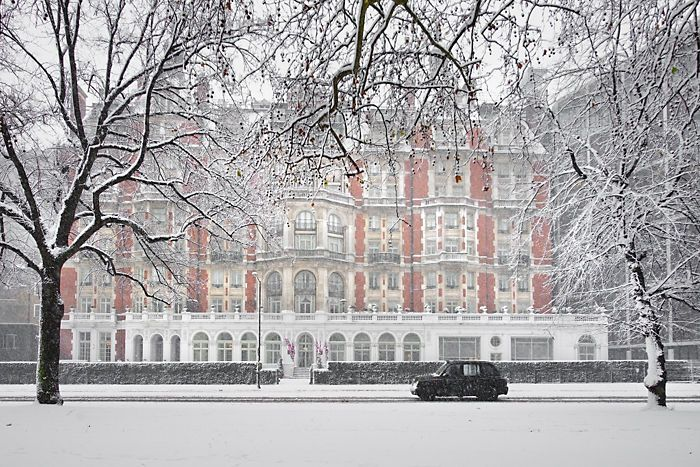 Head to London for a frosty winter break and warm up at the Mandarin Oriental in Hyde park.  www.kingdom-london.com