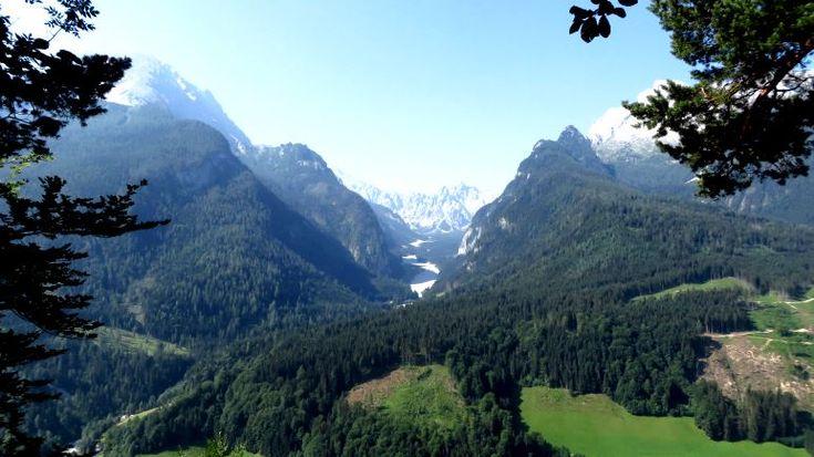 Der Blick ins Wimbachgries zwischen Watzmann und Hochkalter