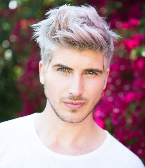 Pin By Men S Stylists On Hair Color For Men Men Hair Color Bleached Hair Mens Hair Colour