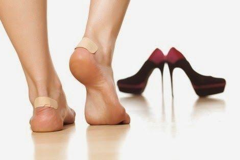 Curar ampollas y rozaduras en los pies de manera rápida y natural - ConsejosdeSalud.info