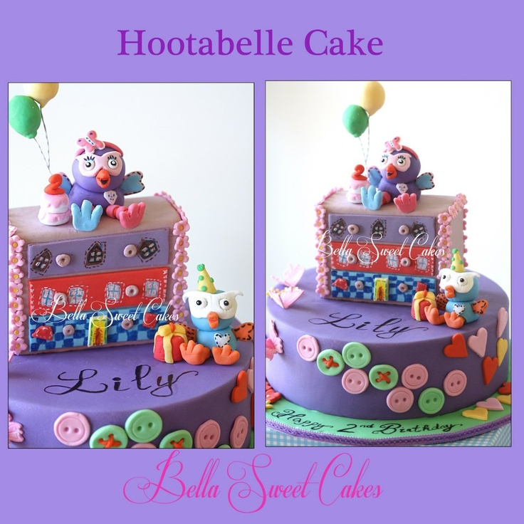 Hootabelle Cake, giggle and Hoot