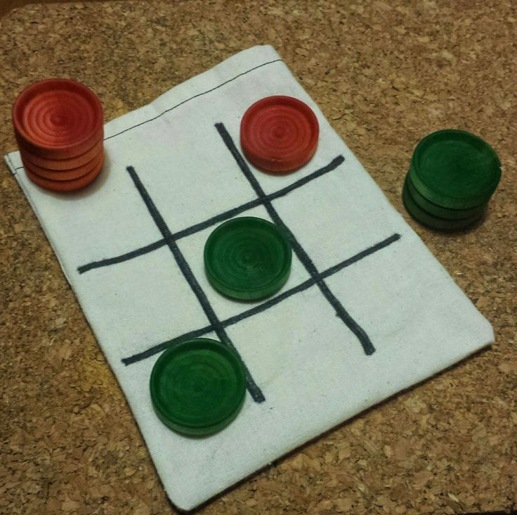Loopeeeee: Tic Tac Toe Set - $8 Great to toss in a bag and bring with you