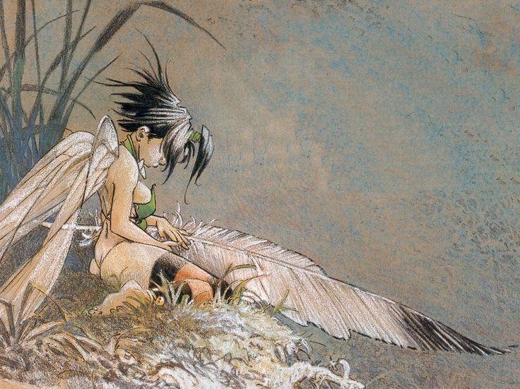 La série Peter Pan, de Loisel.
