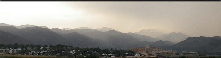 Rain's coming to the Golden valley!: Golden Valley, Golden Colorado, Rain S Coming