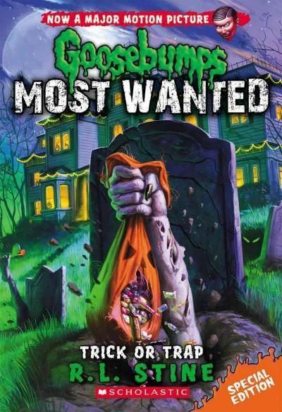 The infamous, Most Wanted Goosebumps characters are out on the loose and after you. Just in time for Halloween, a super special edition! It's Halloween and that means time for trick-or-treating. And s
