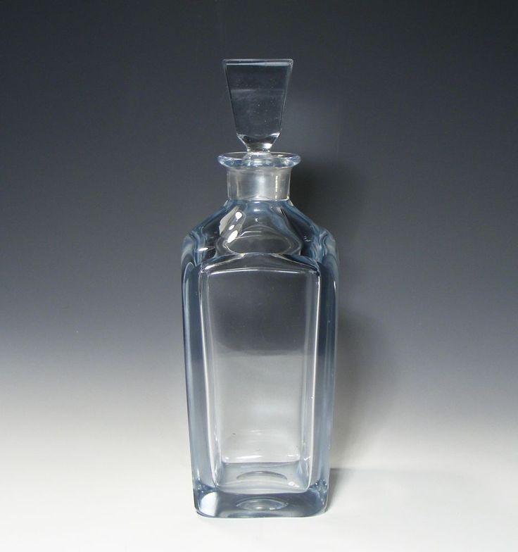 STROMBERGSHYTTAN SWEDISH ART GLASS DECANTER
