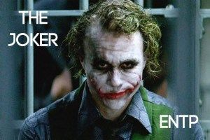The Joker ENTP