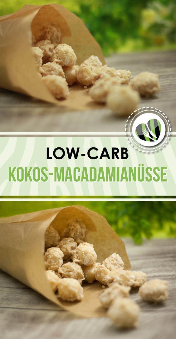 Die gebrannten Kokos-Macadamianüsse sind einfach und schnell gemacht. Mit nur 3 Zutaten sind sie ganz easy.