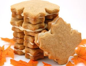 Now I know why Fall is my favorite season! Maple cream cookies