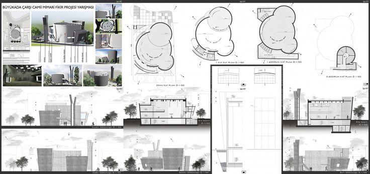 Mimar Abdullah C. Dinç |   Büyük Ada Çarşı Camii